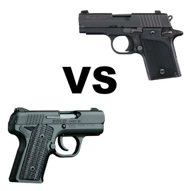 sig p938 vs kimber solo