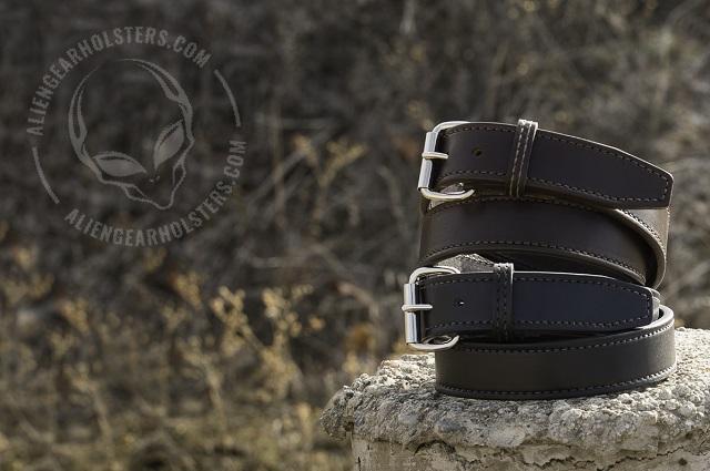 leather gun belts