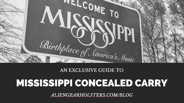 mississippi concealed carry