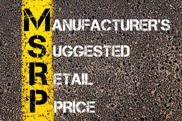 ccw msrp vs retail price