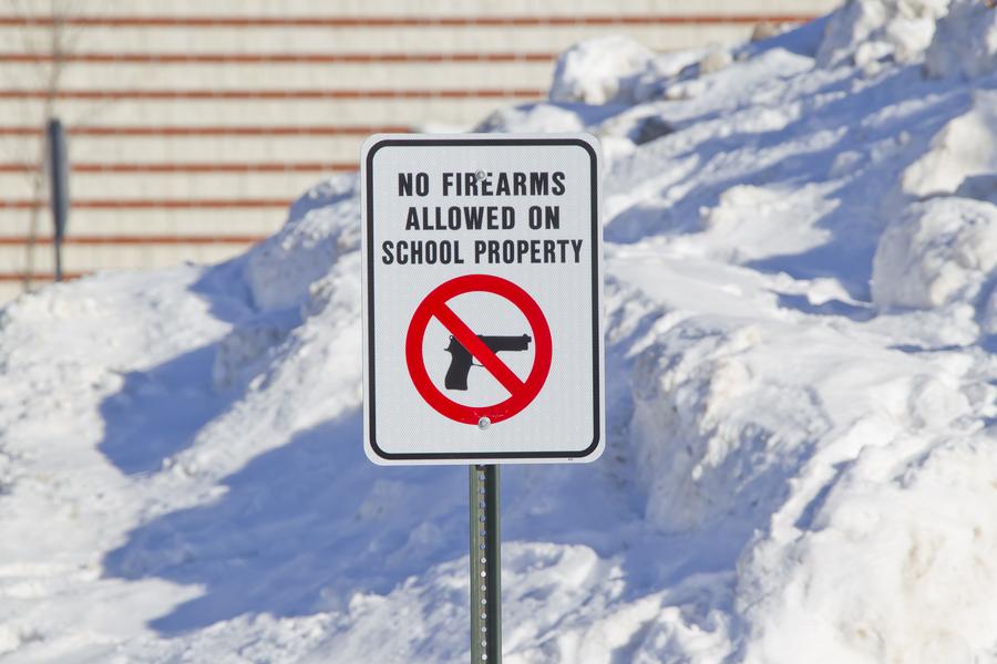 gun free signs