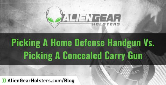 home defense vs ccw