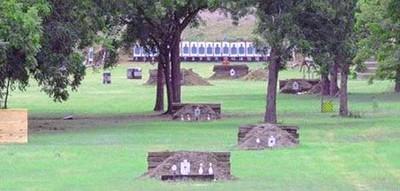A private backyard range