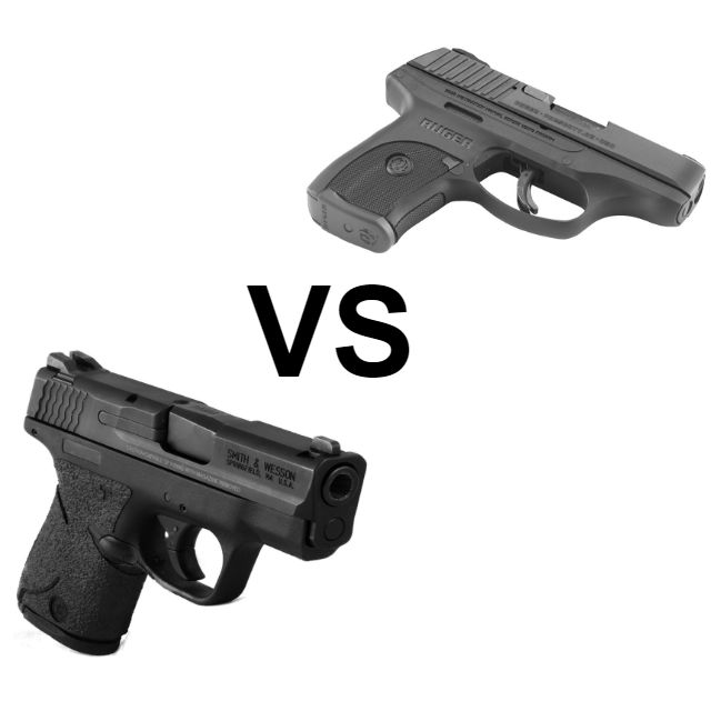 M&P Shield vs  Ruger LC9s: Subcompact Shootout - Alien Gear