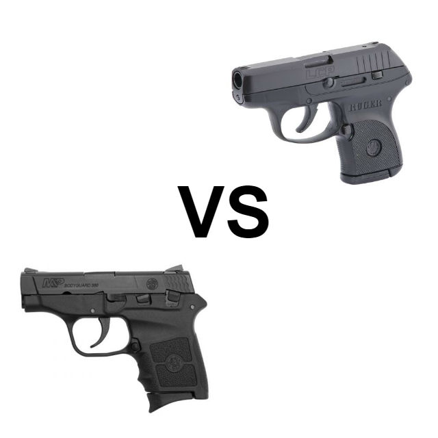 bodyguard 380 vs ruger lcp