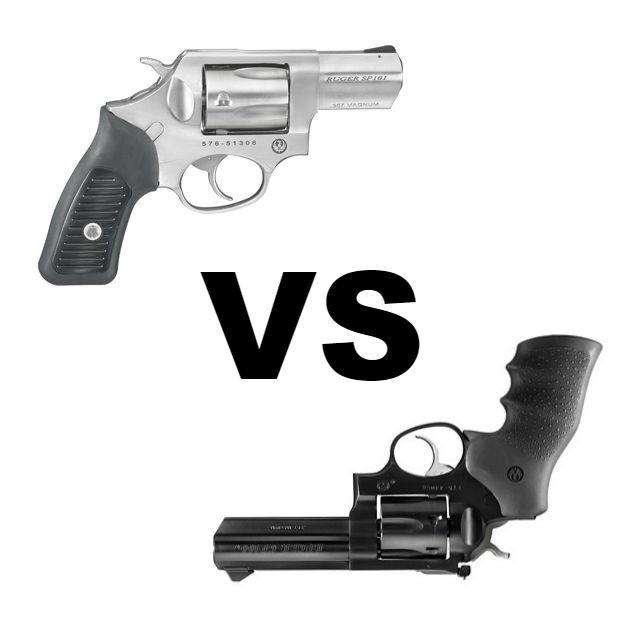 Ruger SP101 vs GP100 For Concealed Carry - Alien Gear