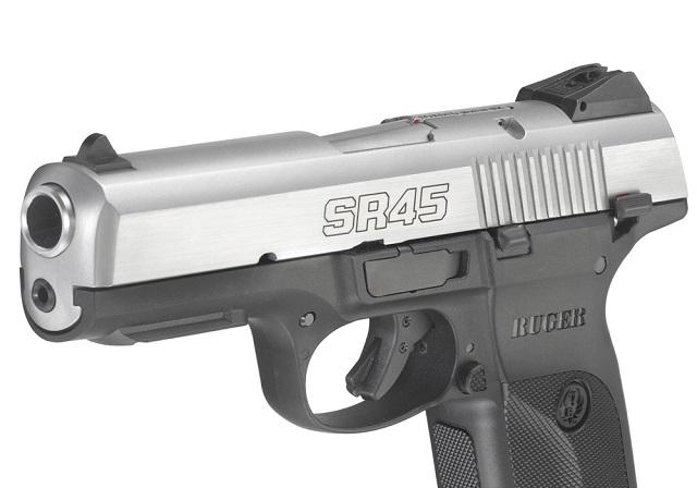 Ruger SR45 in .45 caliber