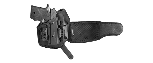 ankle holster prototype unveiled at shot show