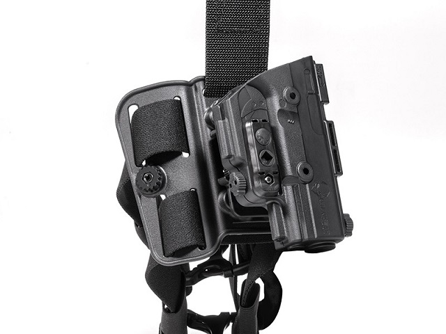 The ShapeShift Tactical Drop Thigh holster