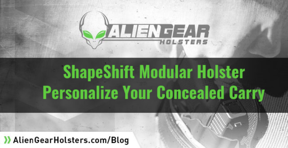 ShapeShift Modular Holster System: Personalize Your Carry