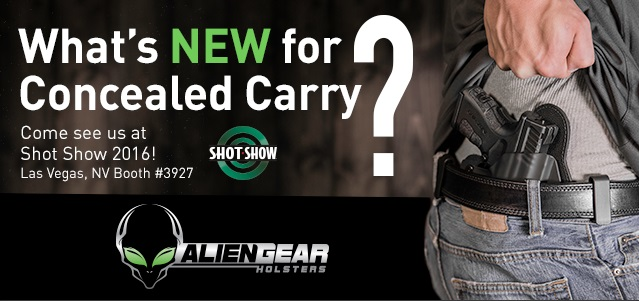 shot show 2016 ccw products