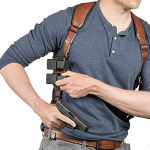 safety for shoulder holster