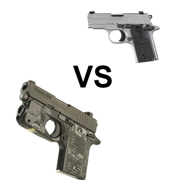 Sig's P938 vs Sig P238