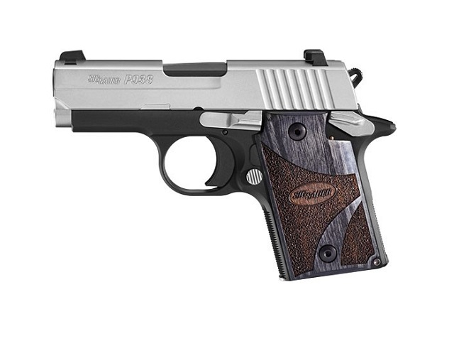 Sig's P938 Blackwood Edition