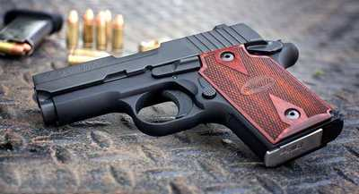 The Sig P938 for concealed carry