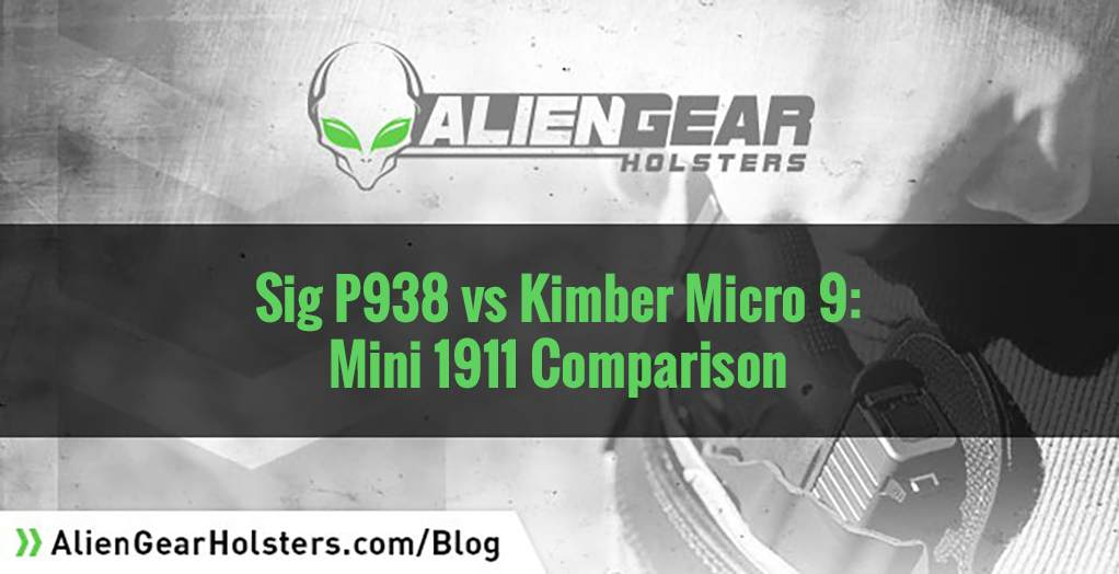 Sig P938 vs Kimber Micro9: Which one?