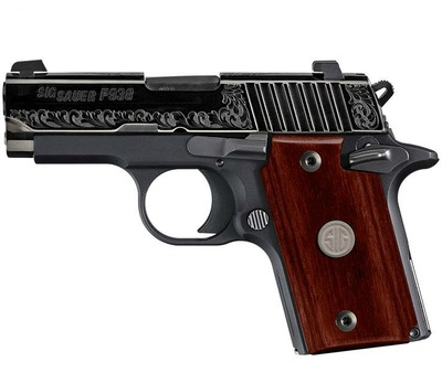 Sig P938 with Rosewood handles