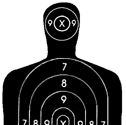 graphic relating to Silhouette Targets Printable known as The Diverse Styles Of Capturing Plans - Alien Equipment Holsters Web site