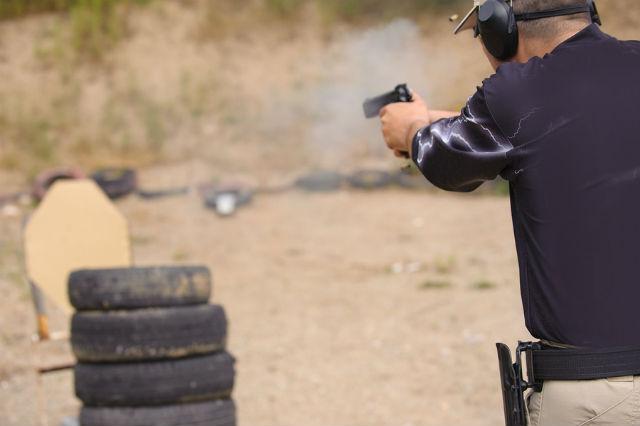 shooting drill