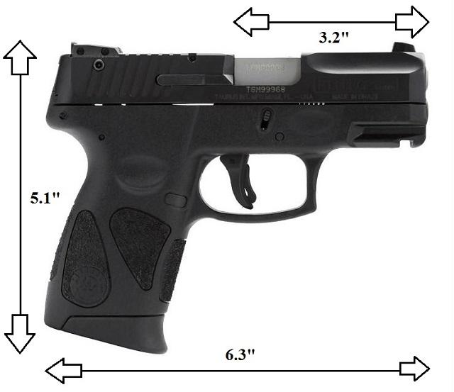 The Taurus PT111 Millennium G2's Specs