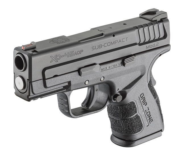 Springfield XD Mod.2 Subcompact in .45 caliber