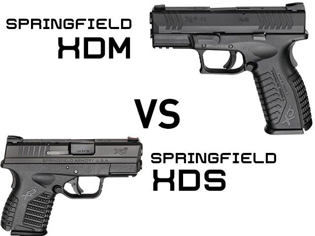 springfield xds vs springfield xdm