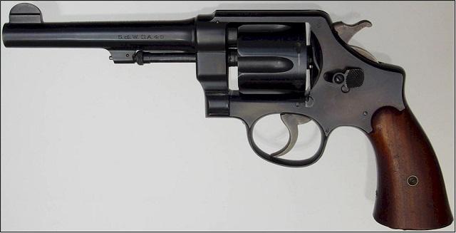 S&W M1917 in .45 caliber