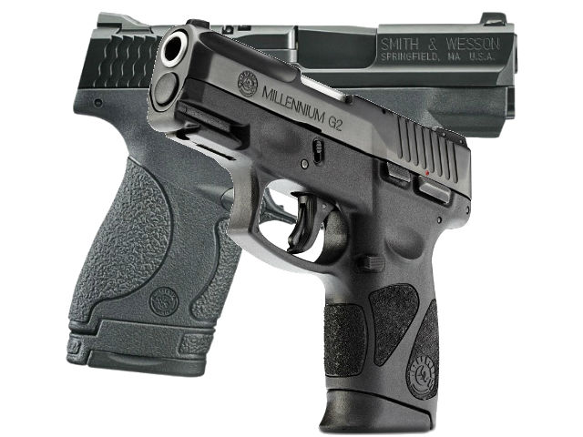 Taurus PT111 Millennium G2 vs S&W M&P Shield