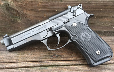 Concealed carry with the relaible beretta m9/92fs